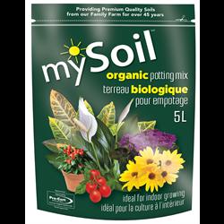 mySoil Organic  Potting Mix 5L 10/cs