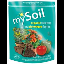 mySoil Organic Starter Mix 9L 6/cs