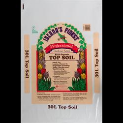 Islands Finest Professional Series Top Soil 30L  68/plt