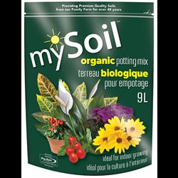 mySoil Organic Potting Mix 9L - 200/plt - 6/cs