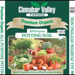 Premium Organic All Purpose Potting Soil 20L  100/plt