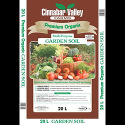 Premium Organic Garden Soil 20L   100/plt